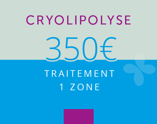 Cryolipolyse : 1 ZONE
