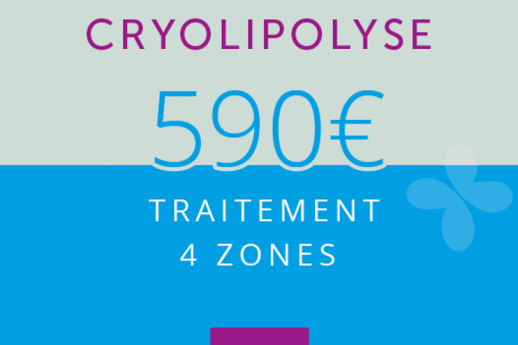 Cryolipolyse : 4 ZONES