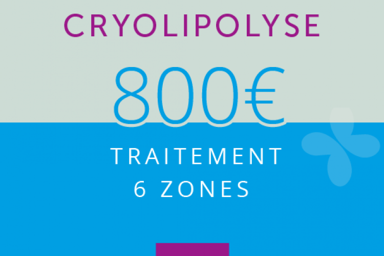 Cryolipolyse : 6 ZONES
