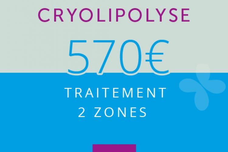 Cryolipolyse : 2 ZONES